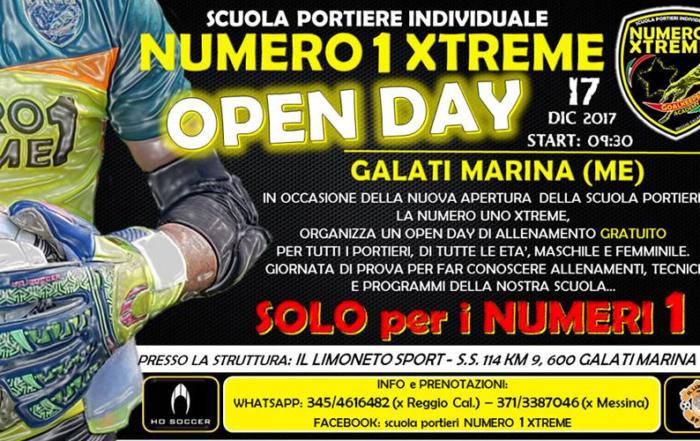 Scuola Calcio Portieri, la Numero 1 Xtreme arriva a Messina al Limoneto Sport